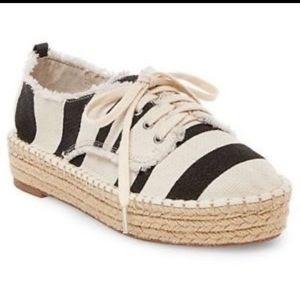 Dolce Vita Striped Espadrille Sneakers platform